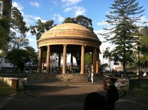 Dome in Morrazan Park - a landmark