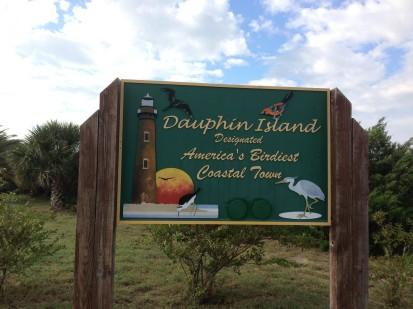 D Island birdy sign