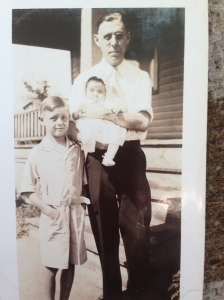 Bob and Ruth White with their father