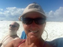 Pensacola Beach bathers