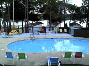 Sunset King Lake Pool