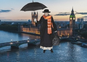Mary Poppins - aka Teta Joan in 20 years