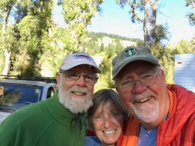 forest service camp selfie